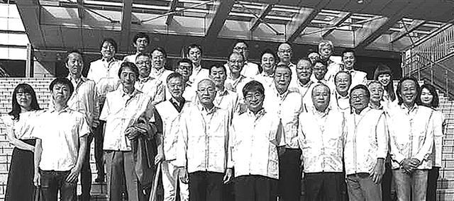 当日参加した会員の集合写真