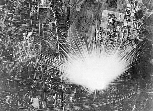 空襲」実は日本軍の爆弾 各務原市の郷土史家が写真検証|中部経済新聞 ...